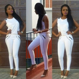 Dillish Matthews Shows Curves In Sexy Outfit [See Photos]